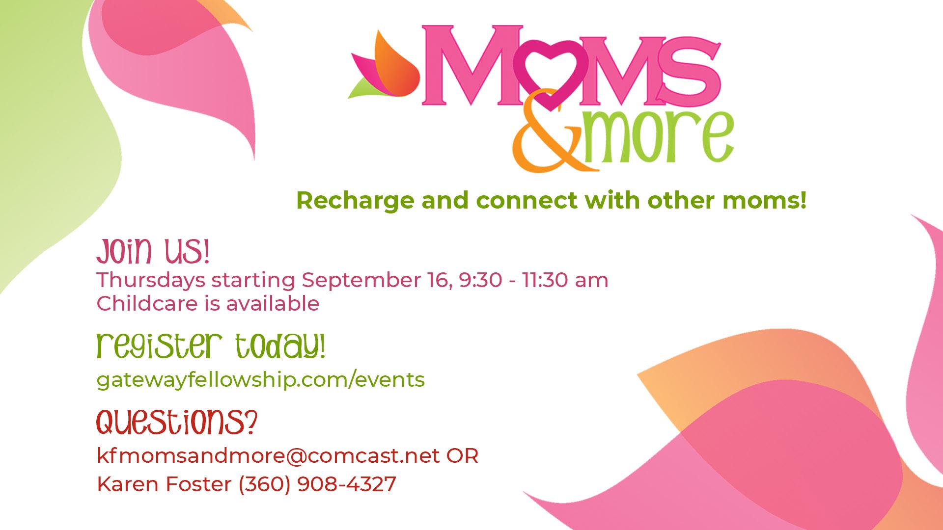 Moms & More Registration
